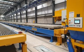 Beams Lines for the production of pre/stressed elements
